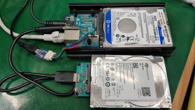 A close up of electronics
